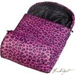 Pink Leopard Stay Warm Sleeping Bag-Fussbudget.com