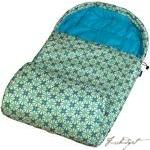 Kaleidoscope Maize Stay Warm Sleeping Bag-Fussbudget.com