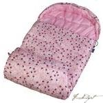 Lady Bug Pink Stay Warm Sleeping Bag-Fussbudget.com