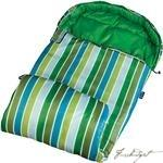 Cool Stripes Stay Warm Sleeping Bag-Fussbudget.com