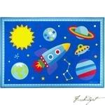 Load image into Gallery viewer, Olive Kids Out of this World 5x7 Rug-Fussbudget.com