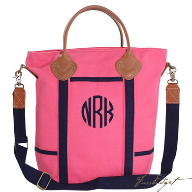 Monogrammed Flight Travel Bag