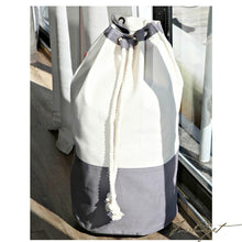 Load image into Gallery viewer, Monogrammed Laundry Duffel - Look Below for Links to Fonts & Colors-Fussbudget.com