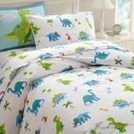Load image into Gallery viewer, Olive Kids Dinosaur Land Twin Duvet Cover-Fussbudget.com