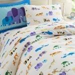 Load image into Gallery viewer, Olive Kids Endangered Animals Twin Duvet Cover-Fussbudget.com
