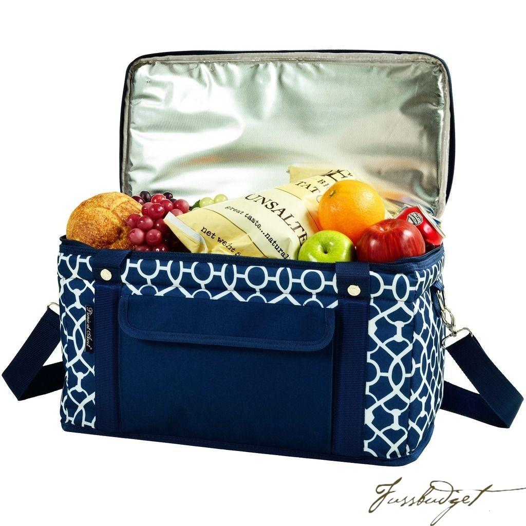 Hybrid Folding Cooler- Trellis Blue