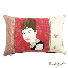 Load image into Gallery viewer, Audrey Hepburn Custom Made One of a kind on Red-Fussbudget.com