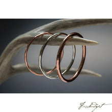 Load image into Gallery viewer, Copper Bangle Bracelets-Fussbudget.com