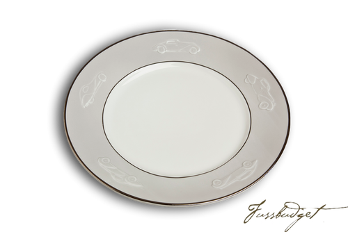 Concours d'Elegance Dinner Plates - Gray (sold in boxes of 2)