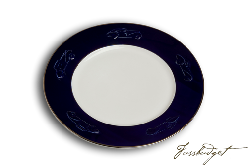 Concours d'Elegance Dinner Plates - Royal Blue (sold in boxes of 2)
