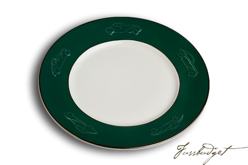 Concours d'Elegance Dinner Plates - British Racing Green (sold in boxes of 2)