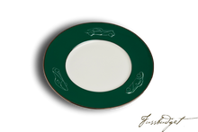 Load image into Gallery viewer, Concours d'Elegance Salad/Desert Plates - British Racing Green (sold in boxes of 2)