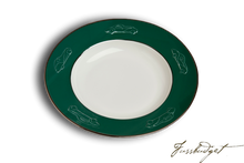 Load image into Gallery viewer, Concours d'Elegance Pasta/Soup Bowls - British Racing Green (sold in boxes of 2)