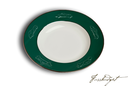Concours d'Elegance Pasta/Soup Bowls - British Racing Green (sold in boxes of 2)