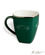 Load image into Gallery viewer, Concours d'Elegance Mugs- British Racing Green (sold in boxes of 2)