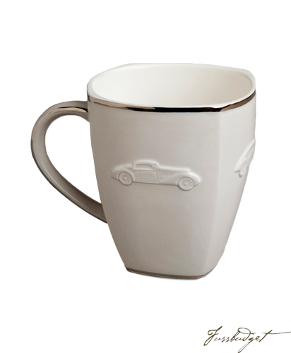 Concours d'Elegance Mugs- Gray (sold in boxes of 2)