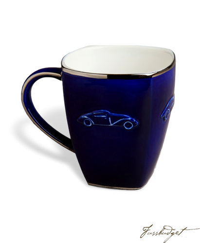 Concours d'Elegance Mugs- Royal Blue (sold in boxes of 2)