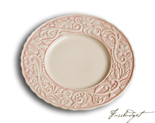 Flower Garden Dinner Plates - Pink (sold in boxes of 4)