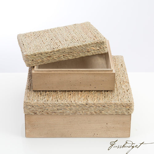 Sarasota Boxes [Set of 2]-Fussbudget.com