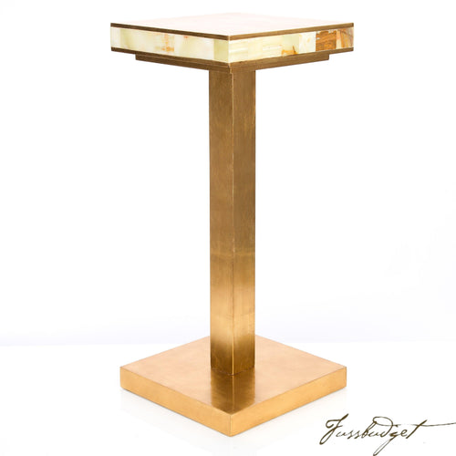 Palisades Onyx Accent Table-Fussbudget.com