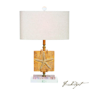 "Coastal Retreat Ponte Vedra Starfish 24.5"" Table Lamp-Fussbudget.com"