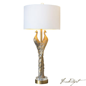 "Golden Glamour 38.5"" Table Lamp-Fussbudget.com"