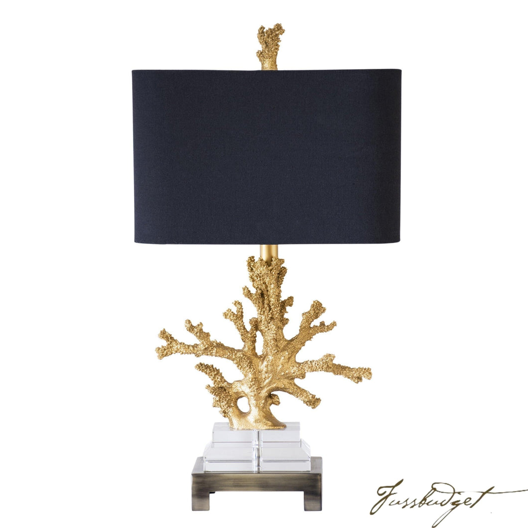 Coral Table Lamp-Fussbudget.com
