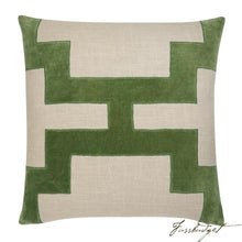 Load image into Gallery viewer, Catie Pillow - Green-Fussbudget.com