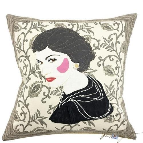 Coco Chanel Custom Made Pillow-Fussbudget.com