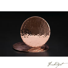 Load image into Gallery viewer, Copper Coasters-Fussbudget.com