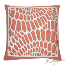 Load image into Gallery viewer, Emerson Pillow - Coral-Fussbudget.com