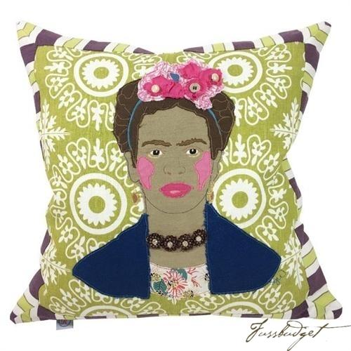 Frida Kahlo Custom Made Pillow-Fussbudget.com