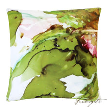 Load image into Gallery viewer, Grasshopper Outdoor Pillow-Fussbudget.com