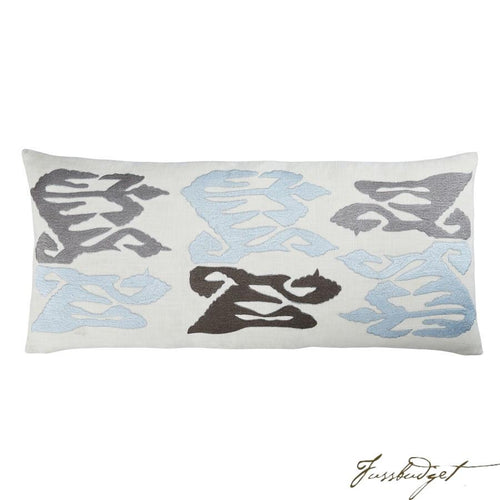 Grayson Pillow - Pale Blue-Fussbudget.com
