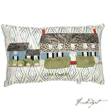 Load image into Gallery viewer, Commissioned Pillow with Your Home-Fussbudget.com