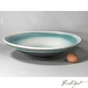 Turquoise Bowl by Tom Turnbull-Fussbudget.com