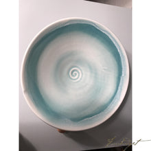 Load image into Gallery viewer, Light Blue Bowl Platter by Tom Turnbull