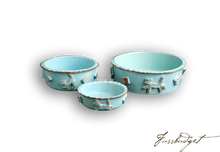 Load image into Gallery viewer, Dog Food/Water bowl - Baby Blue
