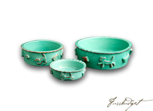 Load image into Gallery viewer, Dog Food/Water Bowl - Green