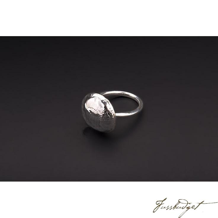 Hand Made and Crafted Sterling Silver Baby Rattle-Fussbudget.com