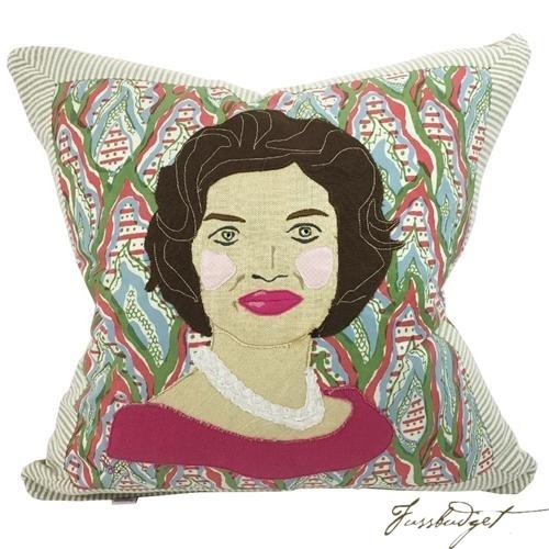 Jackie Kennedy Custom Made Pillow-Fussbudget.com