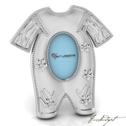 Pajama Sterling Silver Baby Picture Frame-Fussbudget.com