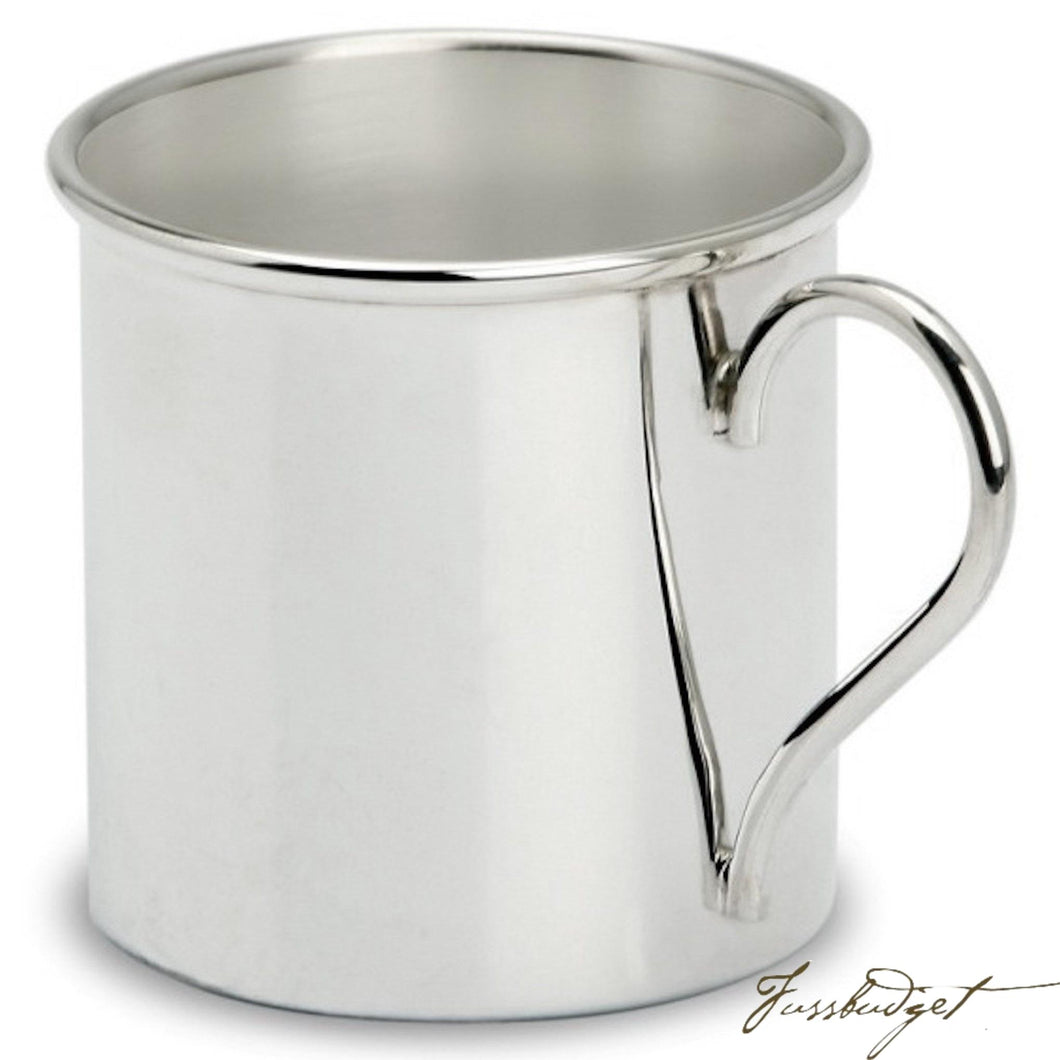 Sterling Silver Baby Mini Keepsake Cup-Fussbudget.com