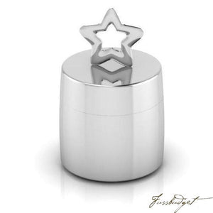 Star Silver Plated Keepsake Box