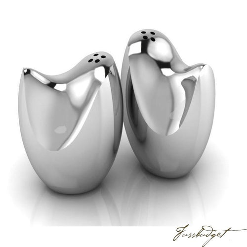 Mahon Sterling Silver Salt Pepper Set-Fussbudget.com