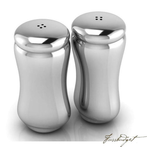 Classic Sterling Silver Salt Pepper Set-Fussbudget.com