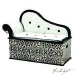 Load image into Gallery viewer, Wild Side Bench Seat w/ Storage-Fussbudget.com