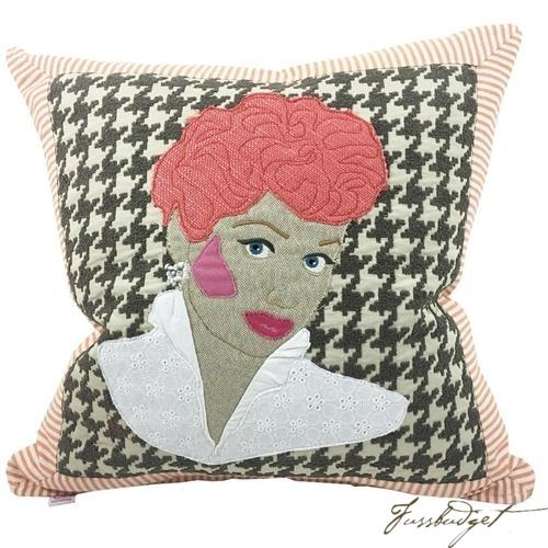 Lucille Ball Pillow Custom Made Pillow-Fussbudget.com