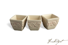Load image into Gallery viewer, Flower Garden Serving Cubes, set of 3 - Pink