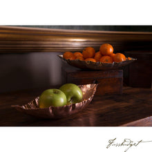 Load image into Gallery viewer, Hand Crafted Silver Magnolia Leaf Bowl-Fussbudget.com